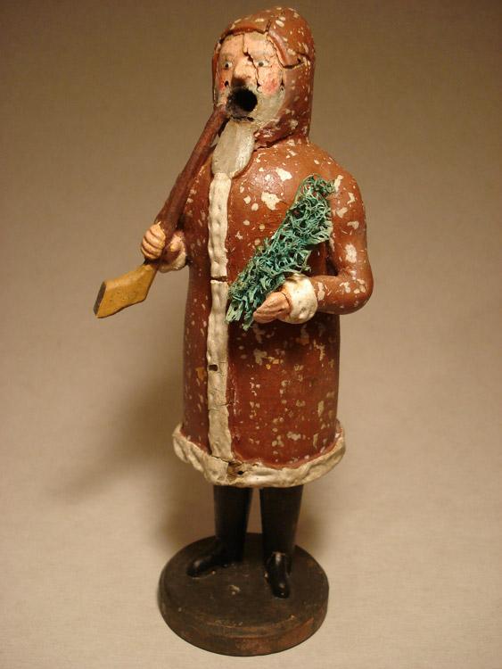 Räuchermann als Weihnachtsmann