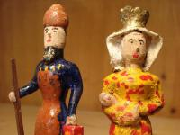 Krippenfiguren, Josef und Maria